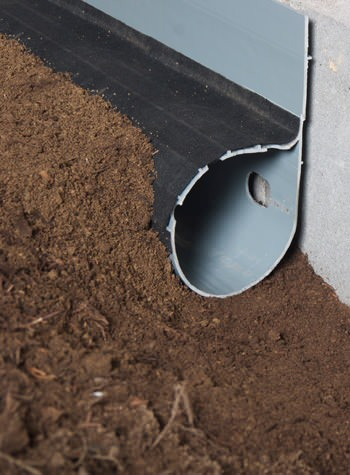 crawl space drain system installed in Wantagh
