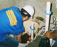 installing a sump pump and backup sump pump system in [city], LI